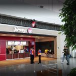 Wendy's at Dulles Airport from the front