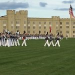 VMI dress parade . . . Not to be missed!