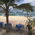 View from Antoine by the Sea on the boardwalk in Philipsburg, SXM.