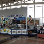 Auntie Anne's at the Hinsdale Oasis on the Tri-State Tollway