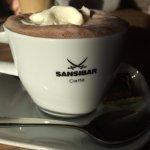 Heiße Schokolade in der Sansibar