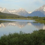 Oxbow Bend 6 miles from the Ranch