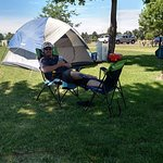 relaxing camp sites