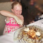 An extraordinary dessert for this special little lady!
