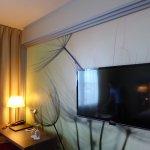 Hotel Room Writing Area & TV