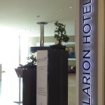 Hotel Entrance adjacent to Airport Terminal