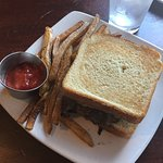 Duck patty melt - delicious.  Fries however were limp and soggy would order a different side.