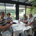 vue directe et plongeante sur la Dordogne