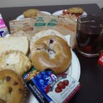 Cold Continental Breakfast items.