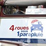 Photo of 4 Roues Sous 1 Parapluie