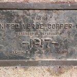 Bronze Plaque Built in 1917