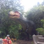 Dinosaurs alive was fun