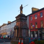 Just down beautiful Denny Street this memorial. The Imperial is just off the photo on the left.