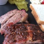 Very good.  Only 2 baby back ribs, but really yummy.  Sides alittle blah but brisket is excellen
