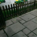 kids tractor play area