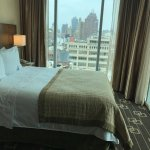 Corner room with NYC views