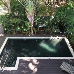Private spash pool