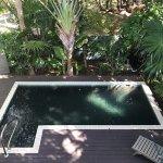 Private spash pool