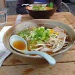 shoyu ramen and kara-miso ramen