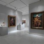 An installation of Renaissance art at the Smart Museum