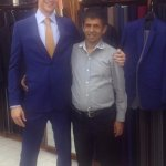 Raj and I after a successful fitting!