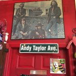 The Beatles are right beside Andy Taylor Ave.