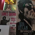 A little James Brown and Bob Dylan.