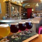 Beer Flight in Bier Got Bar