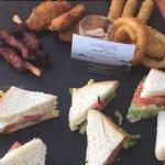planche mini club sandwich, tapas, charcuteries Corse