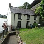 Boat House, the home of Dylan Thomas during the last four years of his life