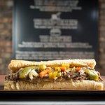 Buona Beef Sandwich