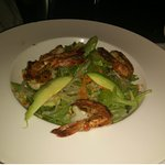 Asian Style Grilled Shrimps with Arugula Salad
