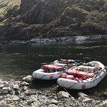 Two oar rafts