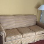 Awful sofa.