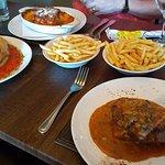 Calzone, Fillet steak and lasagne!