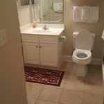 Bathroom, this had a door from the kids room for accesd also