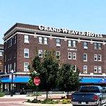 Down town Falls City Nebraska  August 2017 at GRAND WEAVER HOTEL
