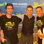 Actor James Zito com has a blast at The Mike Hammer Show Las Vegas