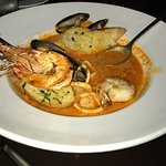 Cioppino was not enough food for my husband. He was hungry afterward.