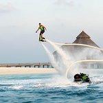 Jet deck at Conrad Maldives