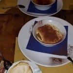 Dessert: Creme Brulee and Tirimisu