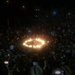 Scene from the Kecak and Fire Dance