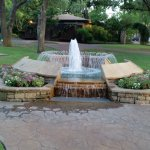 Grapevine Botanical Garden- One of the fountains
