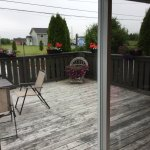 Deck outside Breakfast area