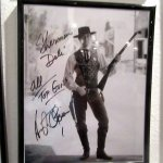 Signed Hollywood Star Photo, Sherman's Deli & Bakery, Palm Springs, CA