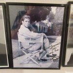 Signed Hollywood TV Star Photo, Sherman's Deli & Bakery, Palm Springs, CA