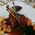 Awesome rack of lamb