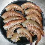 Prawns season is coming.  We're proudly used fresh Aussie prawns.
