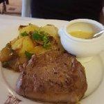 filet de bœuf de l'Aubrac/ gratin dauphinois
