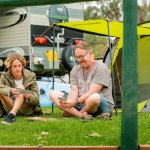 Nice grassy campsites